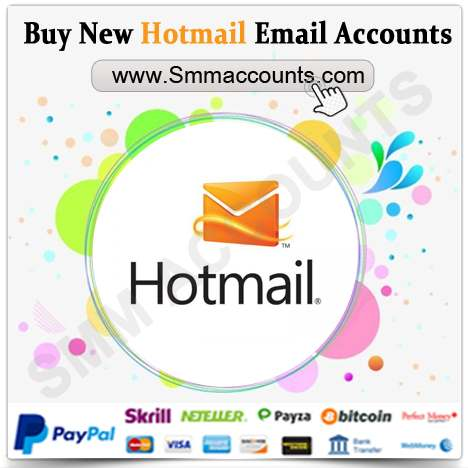 Buy New Hotmail Email Accounts